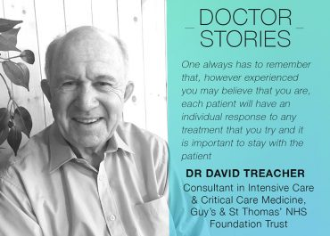 Doctor Stories: Dr David Treacher