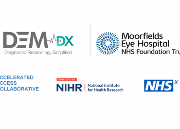 Dem Dx and Moorfields Eye Hospital awarded £1.1M to trial triaging tool for frontline healthcare practitioners